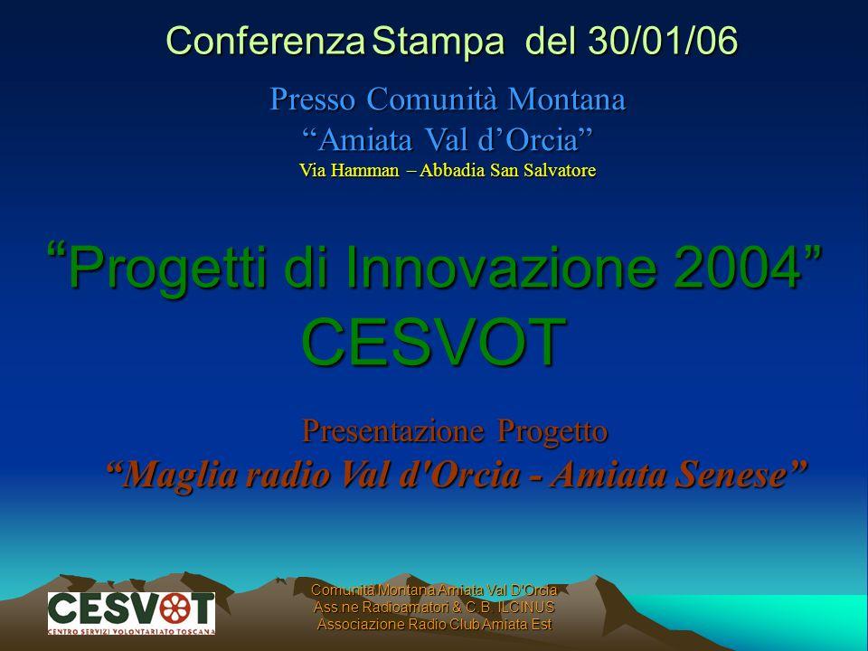 Progetti di Innovazione 2004 CESVOT