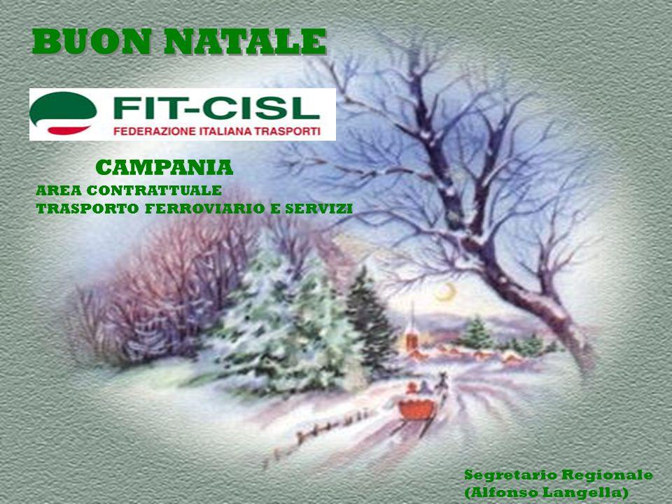 CAMPANIA BUON NATALE AREA CONTRATTUALE TRASPORTO FERROVIARIO E SERVIZI