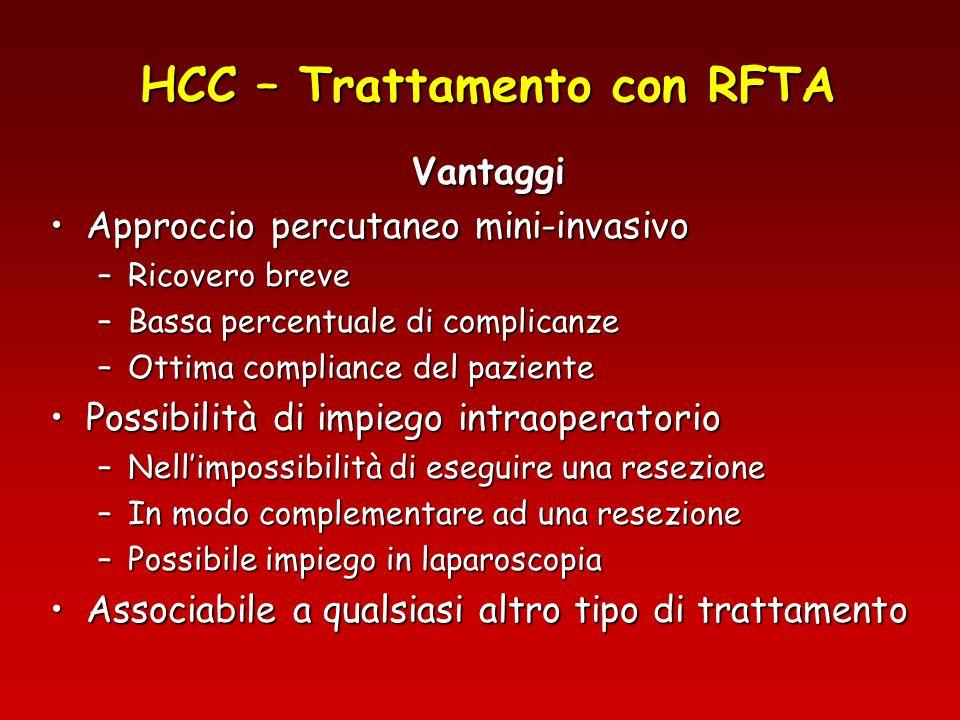 HCC – Trattamento con RFTA