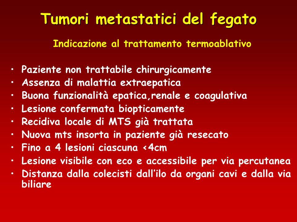 Tumori metastatici del fegato
