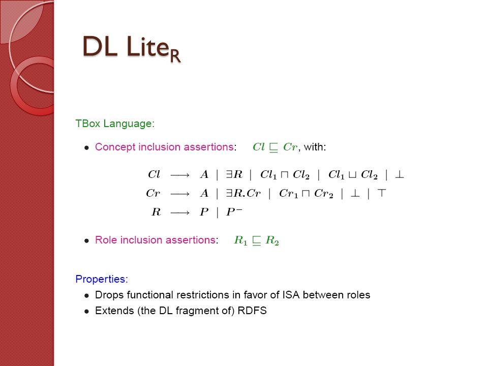 DL LiteR
