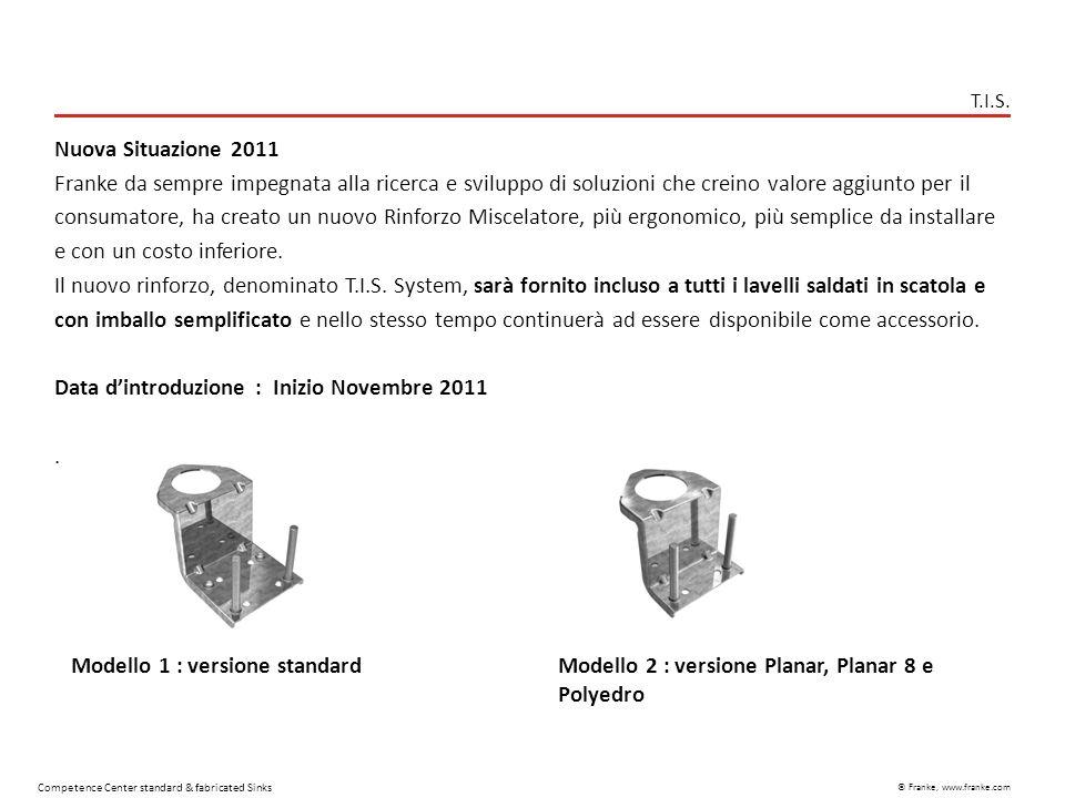 Data d'introduzione : Inizio Novembre 2011 .