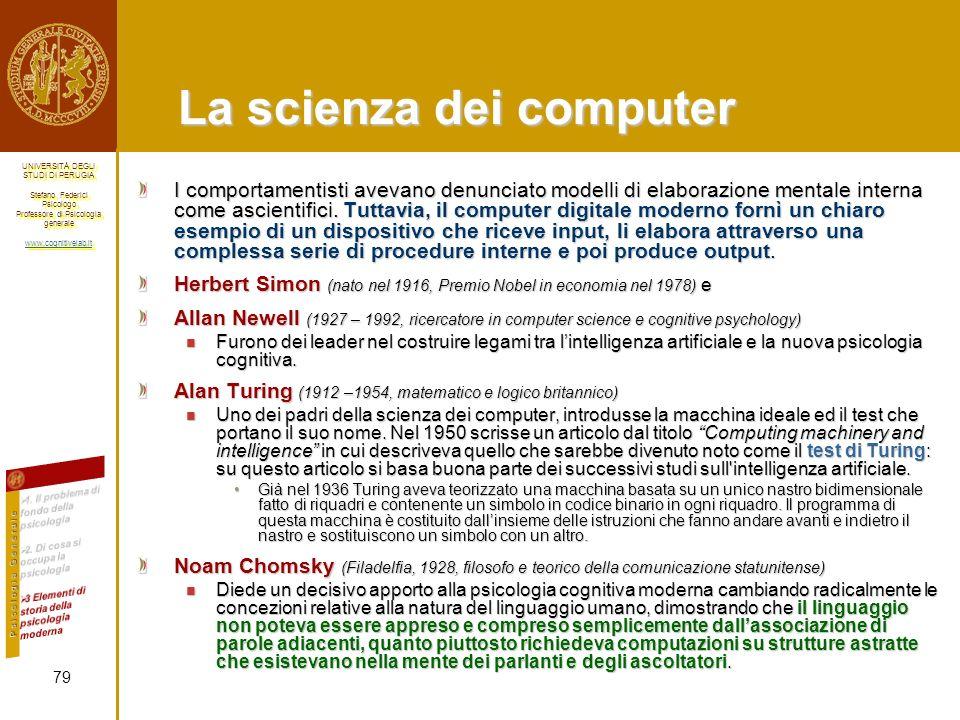 La scienza dei computer