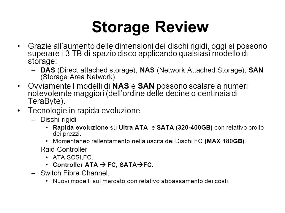 Storage Review