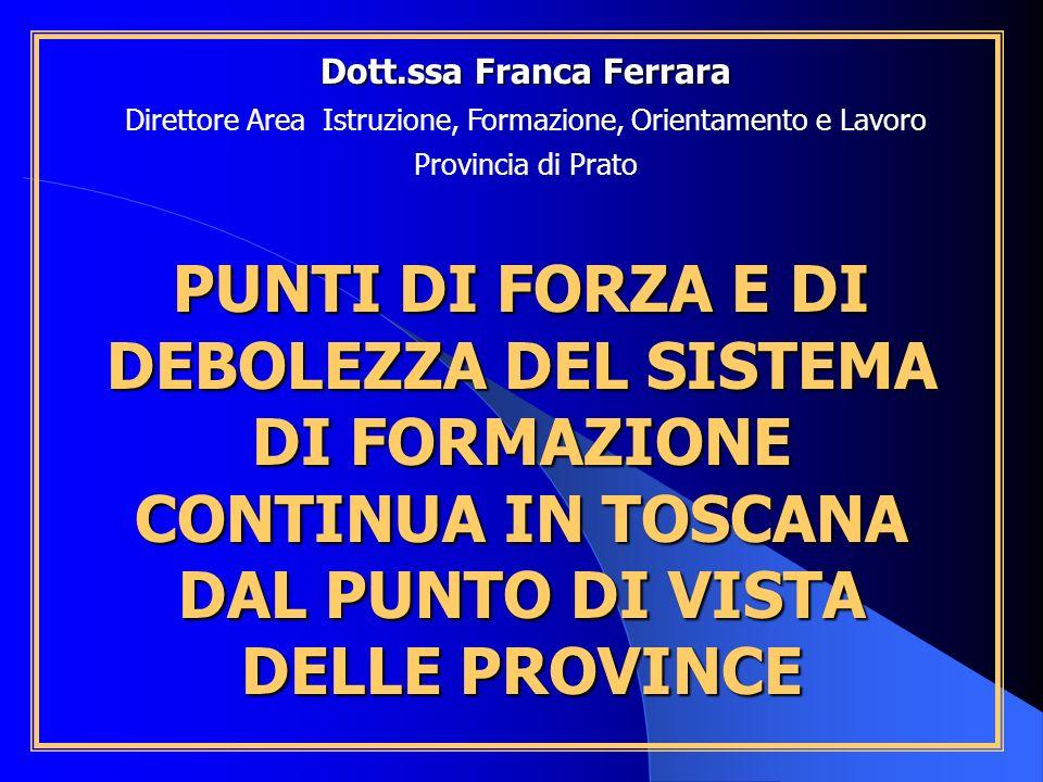 Dott.ssa Franca Ferrara