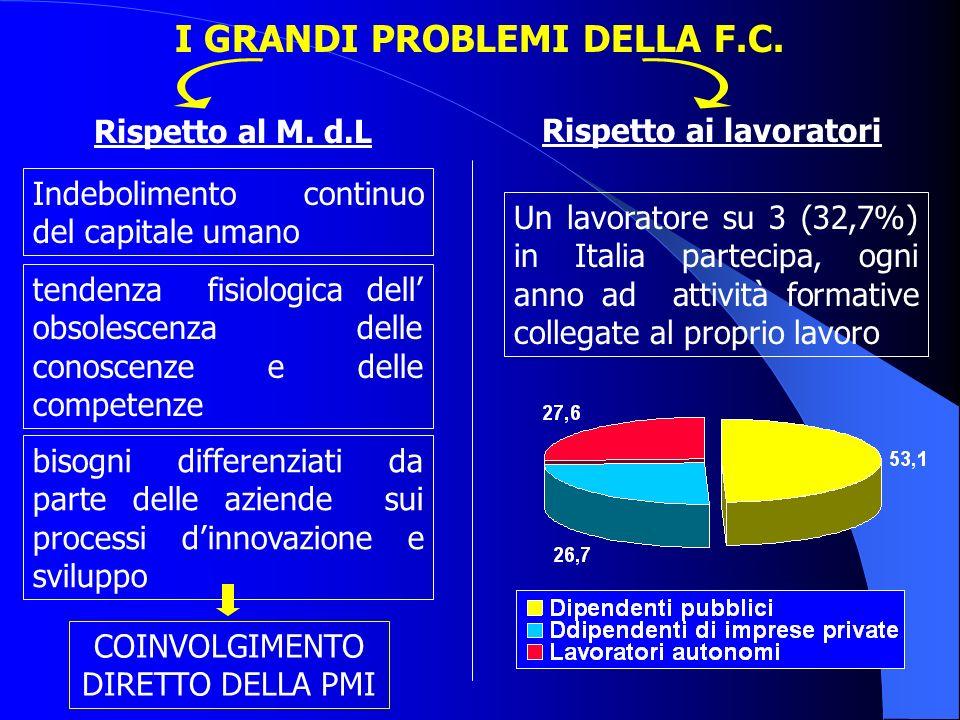 I GRANDI PROBLEMI DELLA F.C.