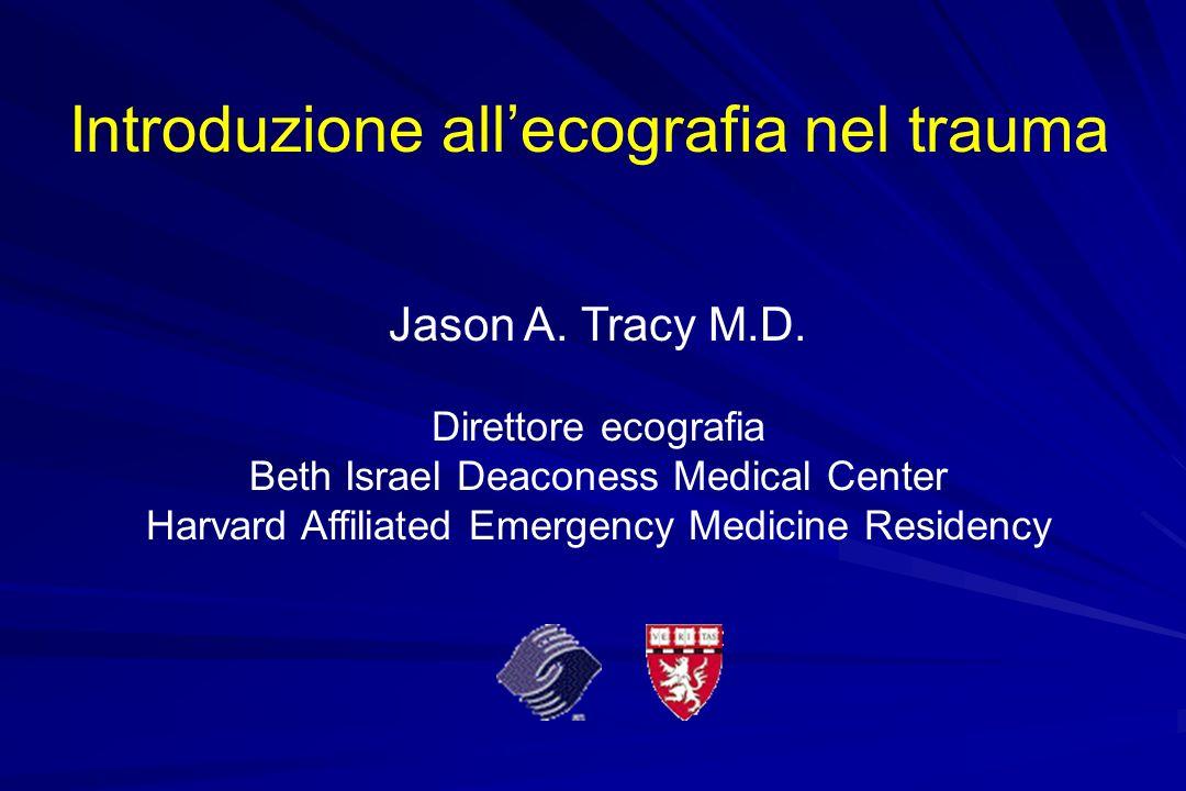 Introduzione all'ecografia nel trauma