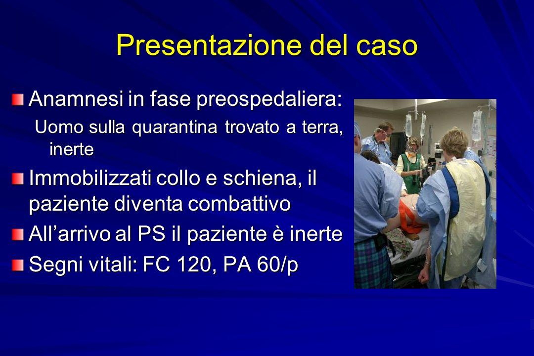 Presentazione del caso