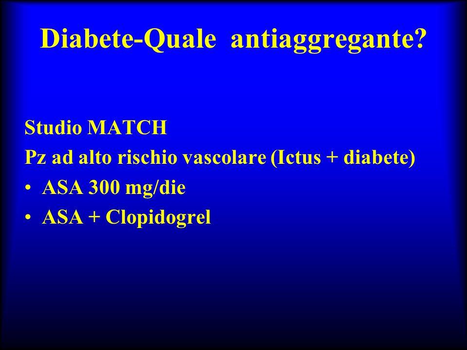 Diabete-Quale antiaggregante
