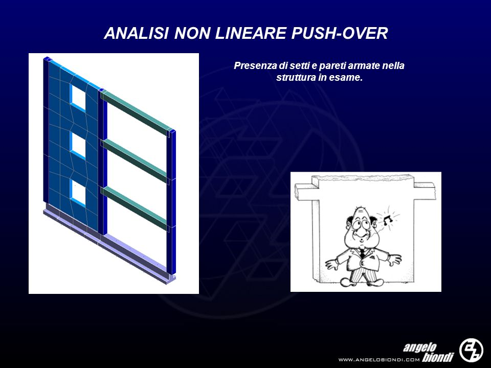 ANALISI NON LINEARE PUSH-OVER