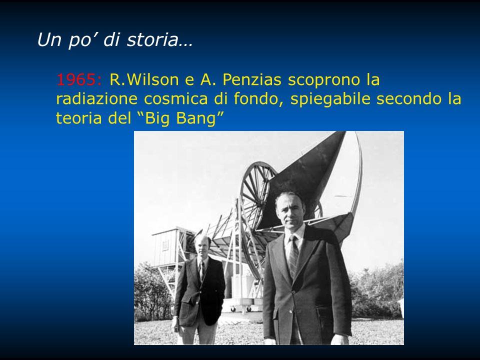 Un po' di storia… 1965: R.Wilson e A.