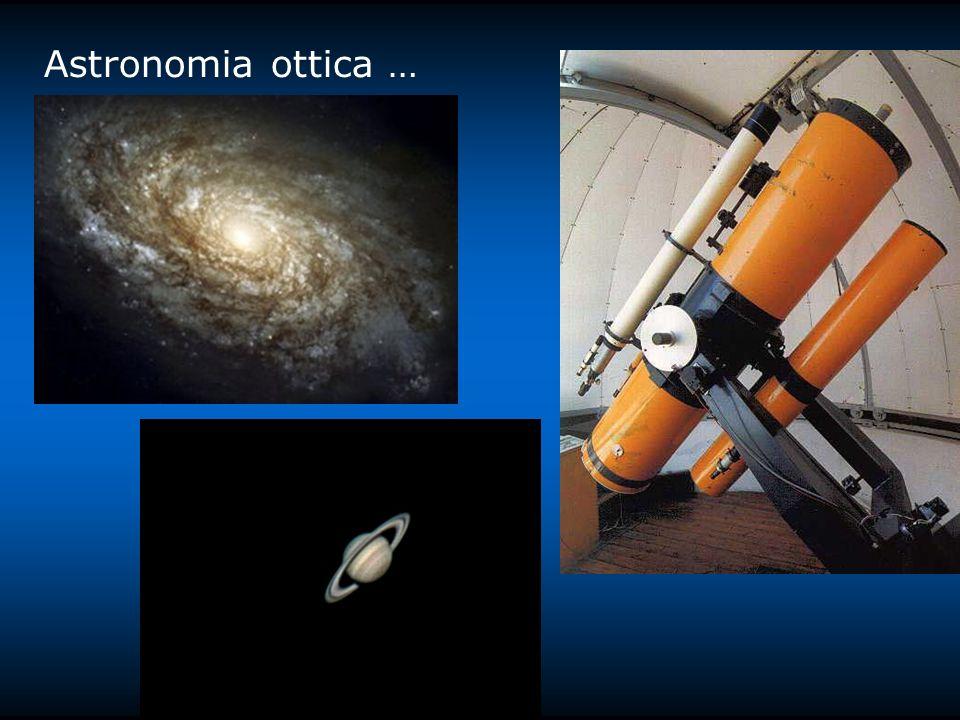Astronomia ottica …