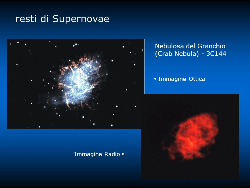 resti di Supernovae Nebulosa del Granchio (Crab Nebula) - 3C144