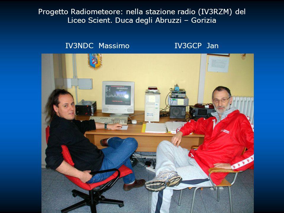 Progetto Radiometeore: nella stazione radio (IV3RZM) del Liceo Scient