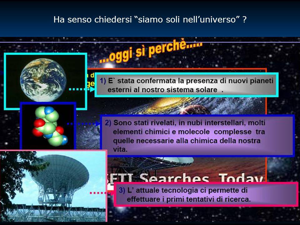 Ha senso chiedersi siamo soli nell'universo