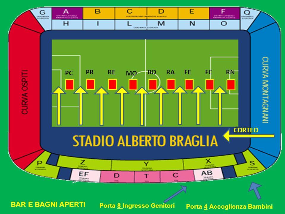 PC PR RE MO BO RA FE FC RN CORTEO BAR E BAGNI APERTI