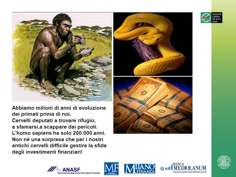 Abbiamo milioni di anni di evoluzione dei primati prima di noi.