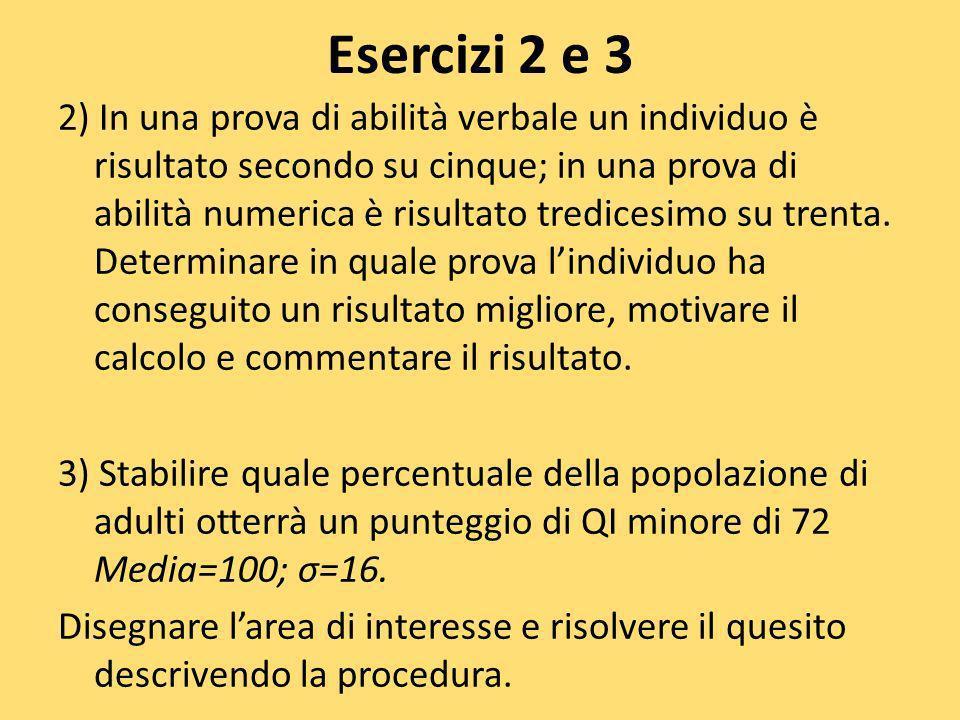 Esercizi 2 e 3
