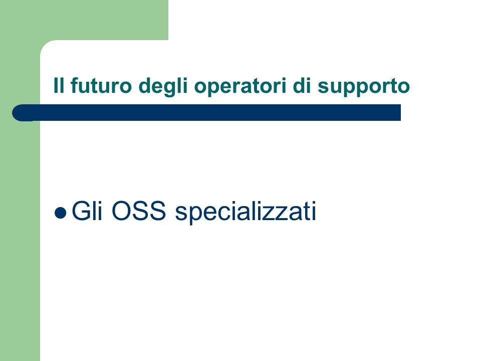 Il futuro degli operatori di supporto