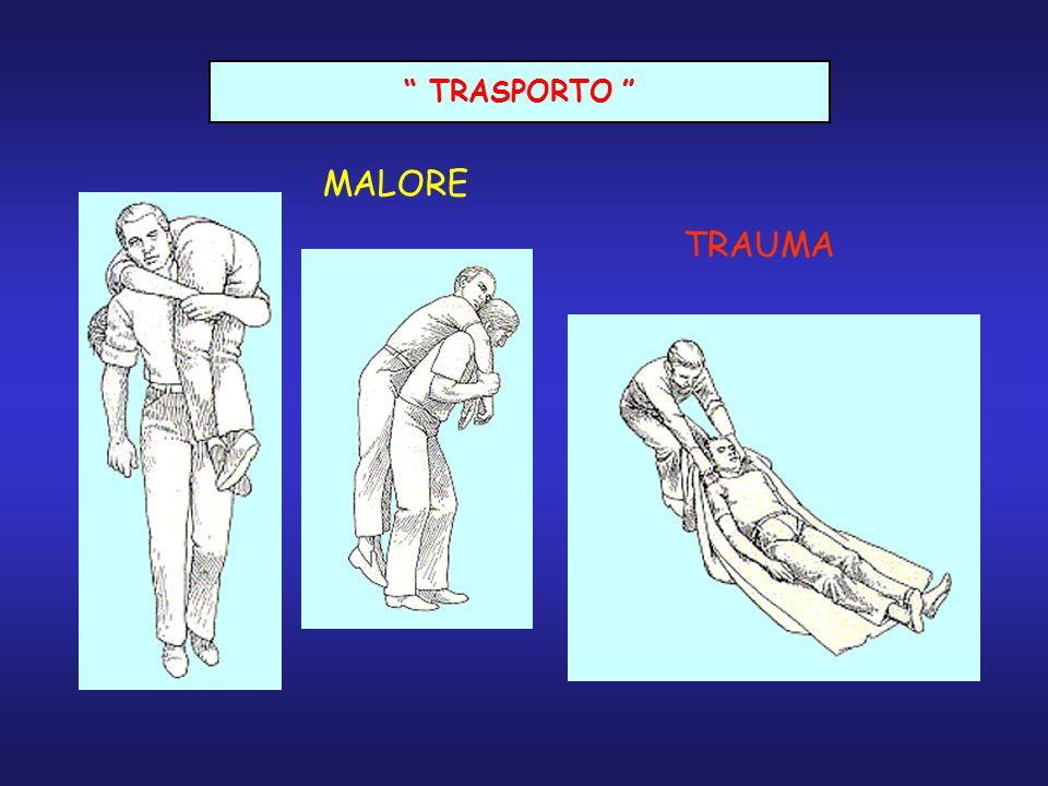TRASPORTO MALORE TRAUMA