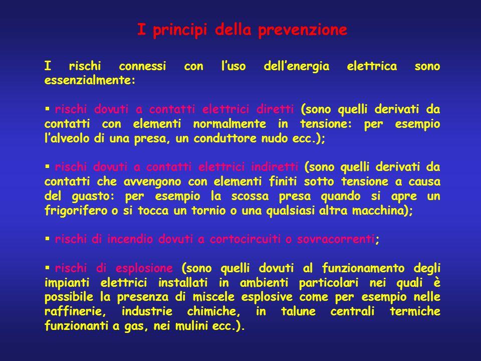 I principi della prevenzione