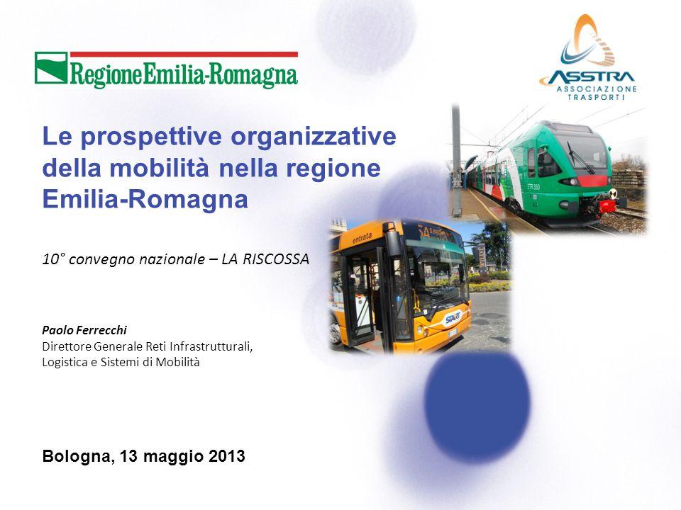Le prospettive organizzative della mobilità nella regione Emilia-Romagna