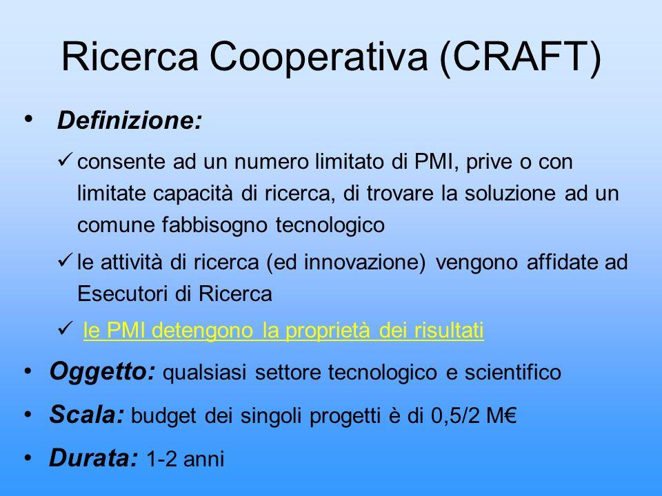 Ricerca Cooperativa (CRAFT)