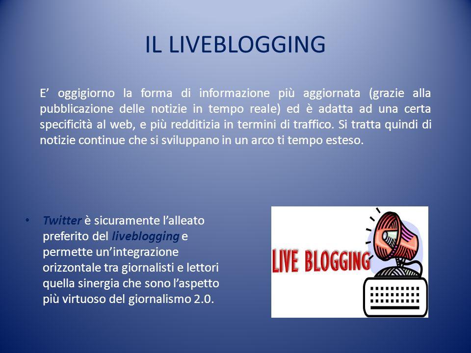 IL LIVEBLOGGING