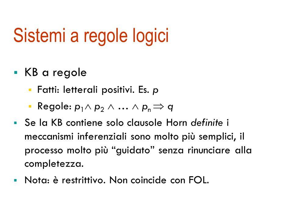 Sistemi a regole logici