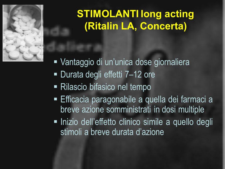 STIMOLANTI long acting