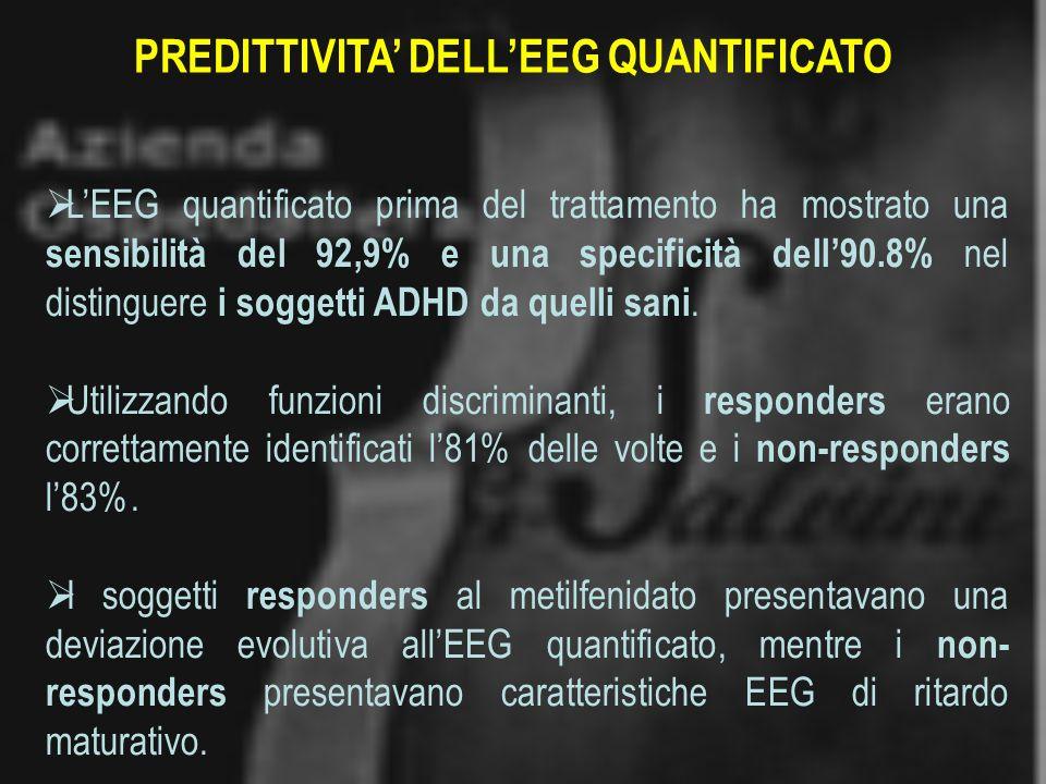 PREDITTIVITA' DELL'EEG QUANTIFICATO