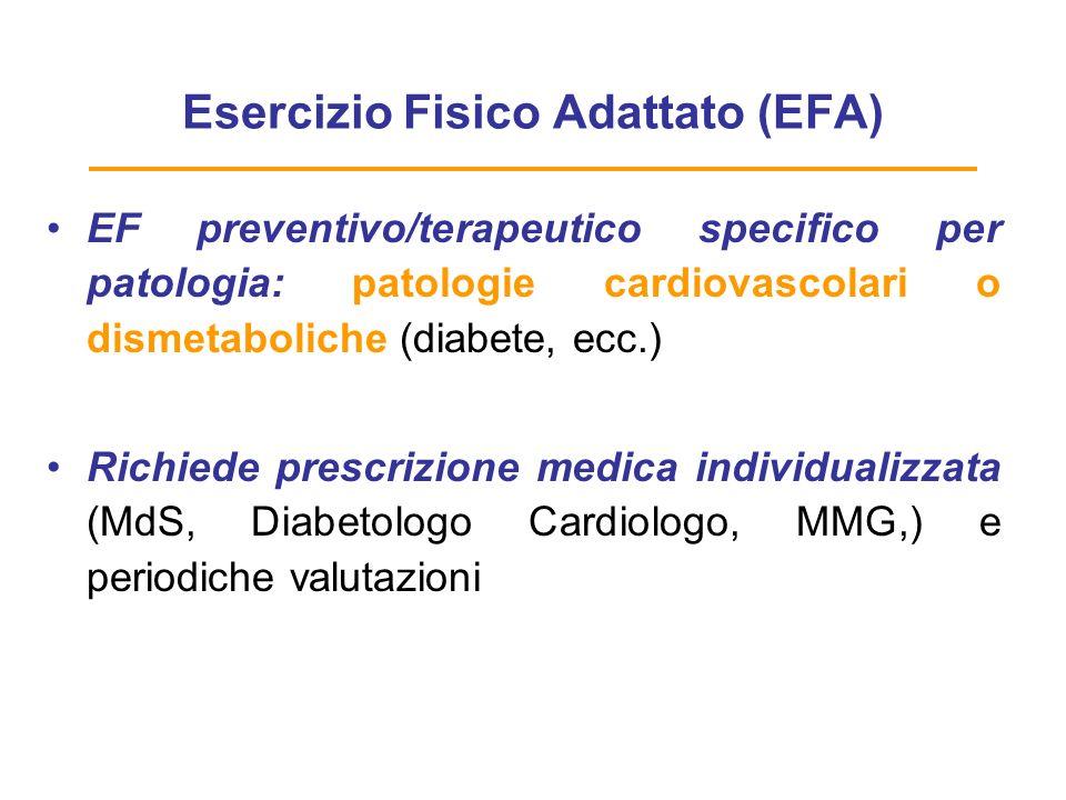 Esercizio Fisico Adattato (EFA)