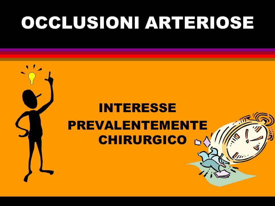 INTERESSE PREVALENTEMENTE CHIRURGICO