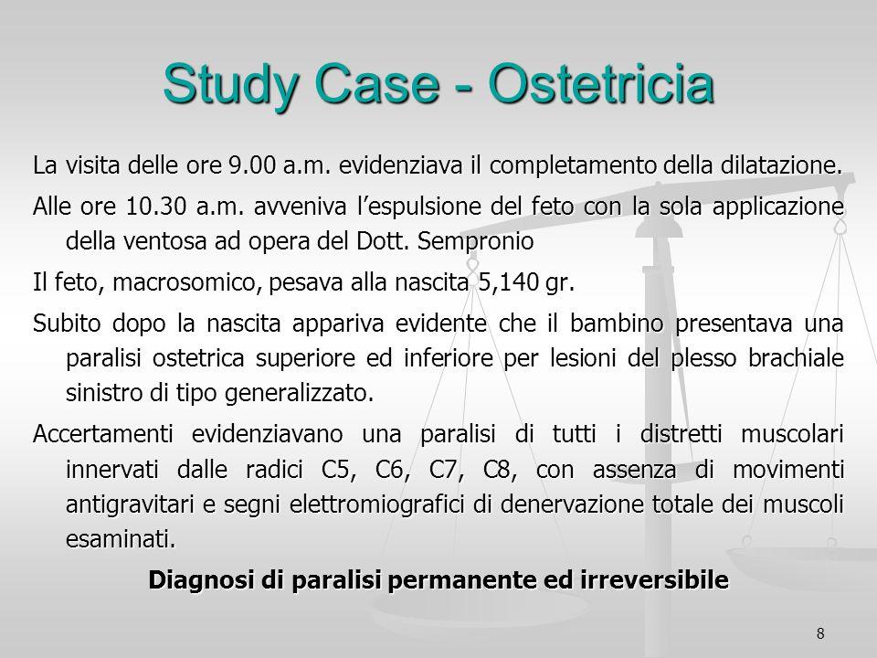Study Case - Ostetricia
