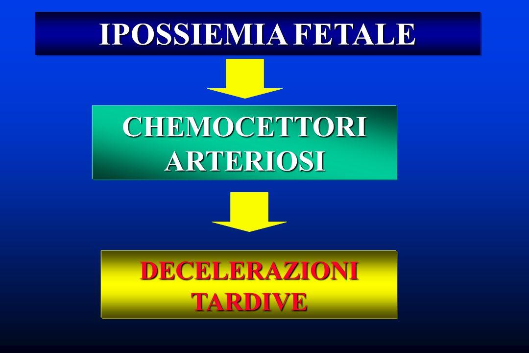 CHEMOCETTORI ARTERIOSI DECELERAZIONI TARDIVE
