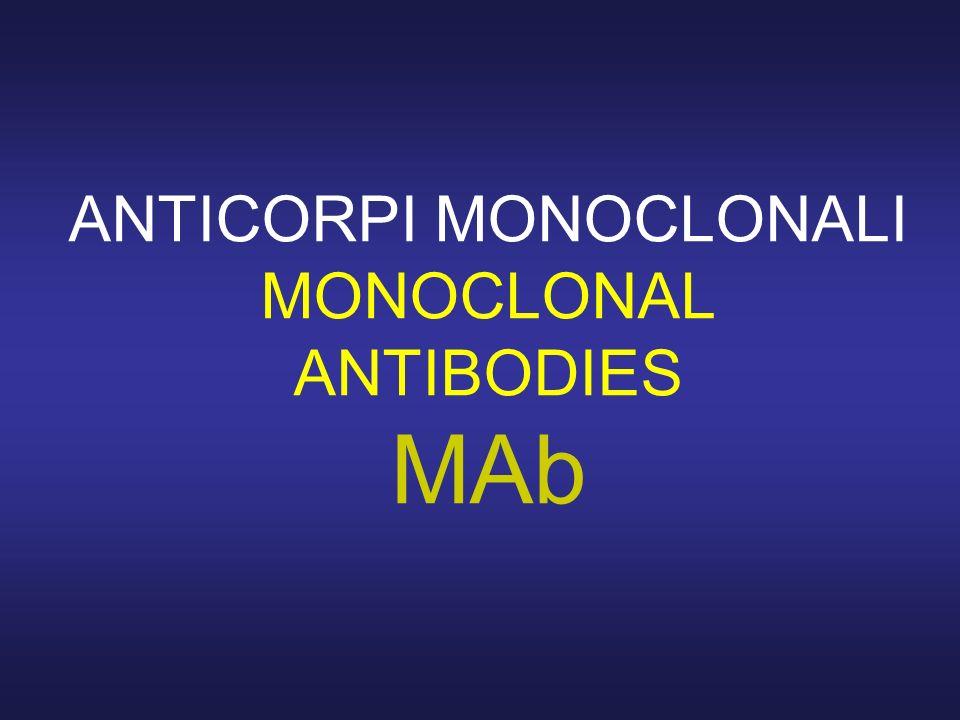 ANTICORPI MONOCLONALI MONOCLONAL ANTIBODIES MAb