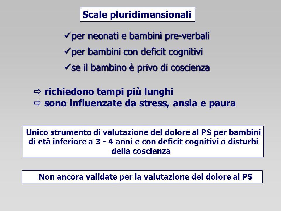Scale pluridimensionali