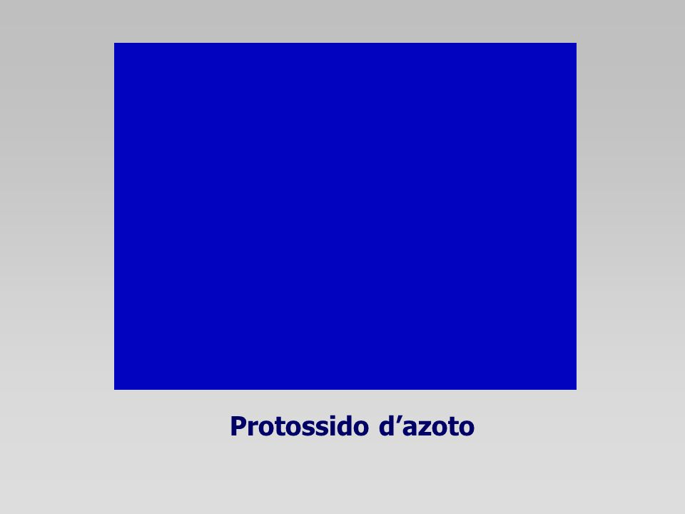 Protossido d'azoto