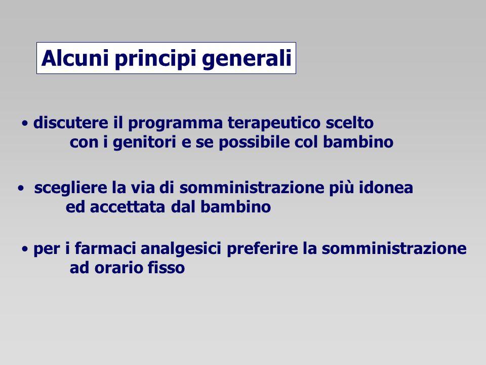 Alcuni principi generali