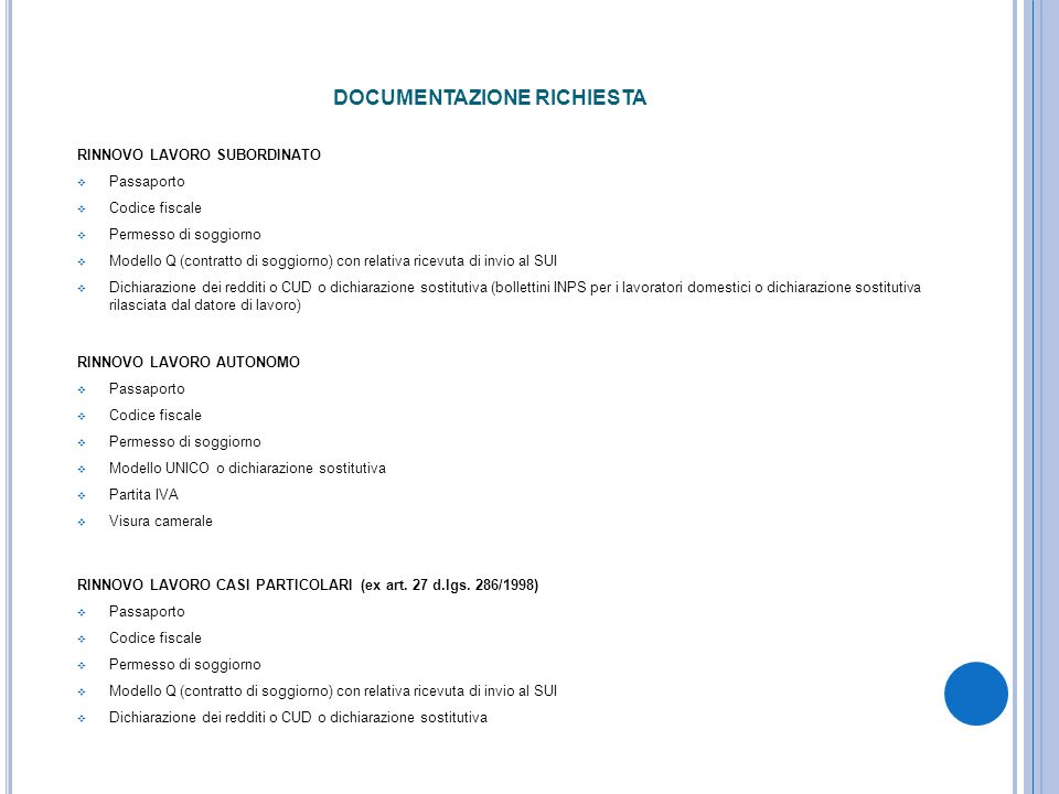 Beautiful Contratto Di Soggiorno Modello Q Gallery - Design Trends ...