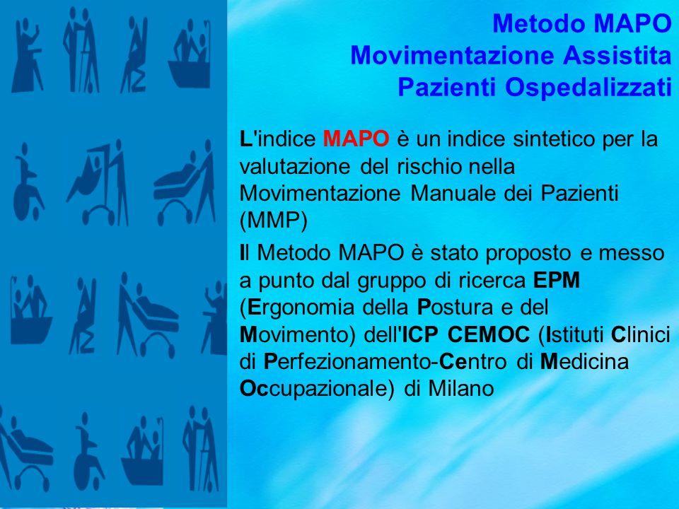 Metodo MAPO Movimentazione Assistita Pazienti Ospedalizzati