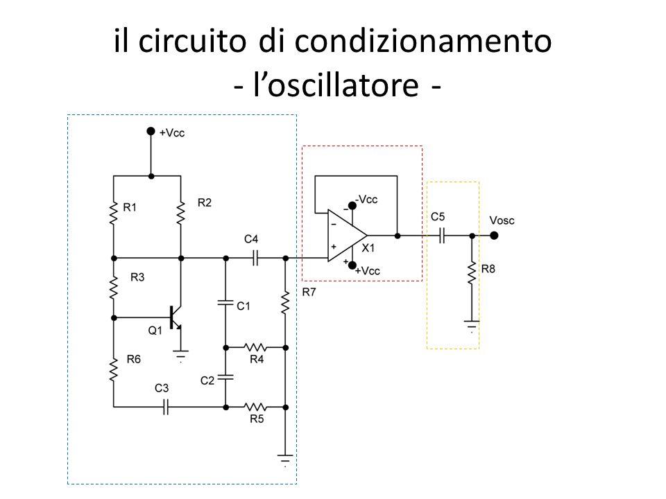 il circuito di condizionamento - l'oscillatore -