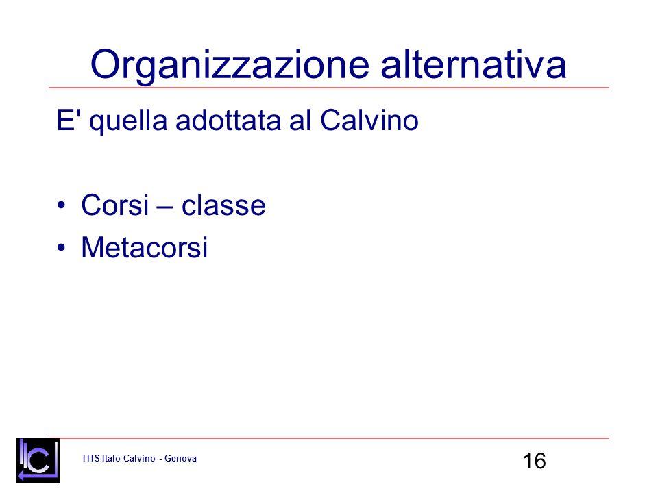 Organizzazione alternativa