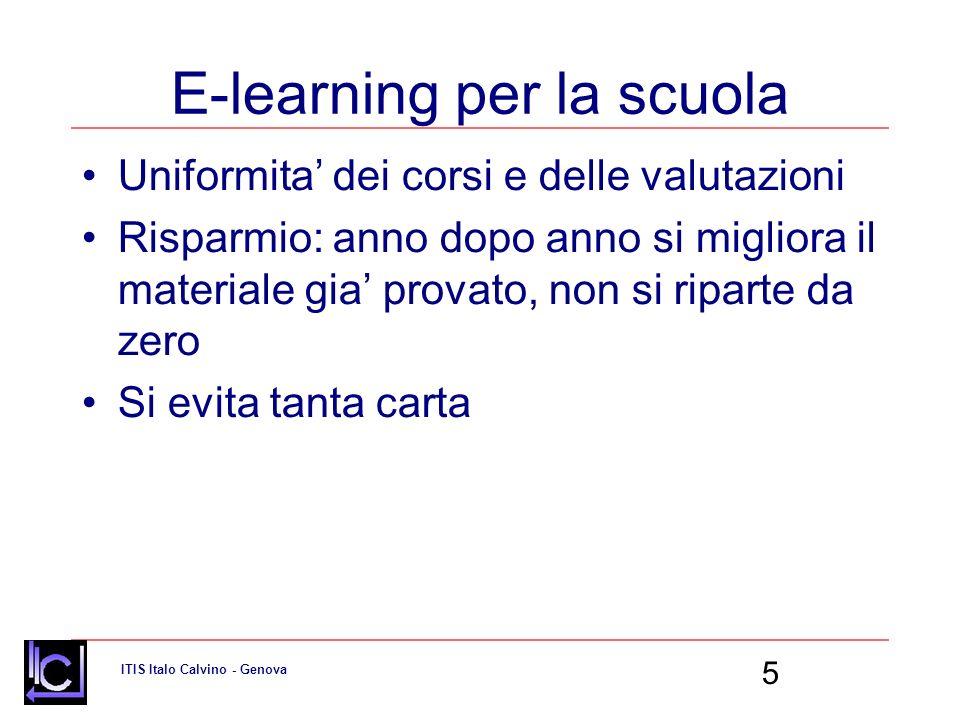 E-learning per la scuola
