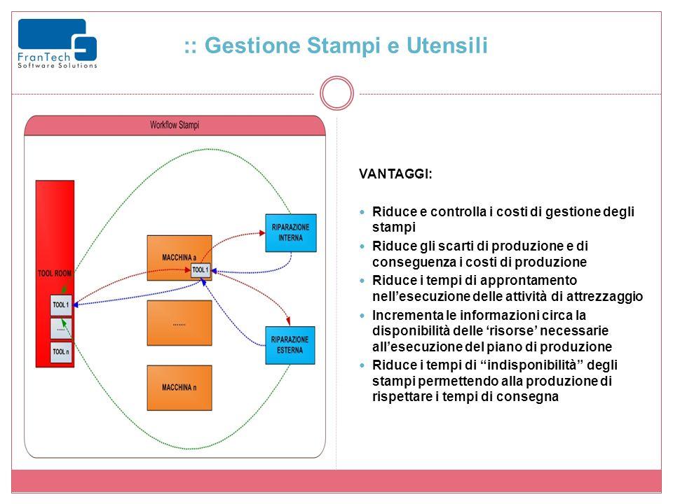 :: Gestione Stampi e Utensili