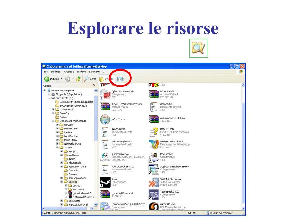 Esplorare le risorse Presentazione 12