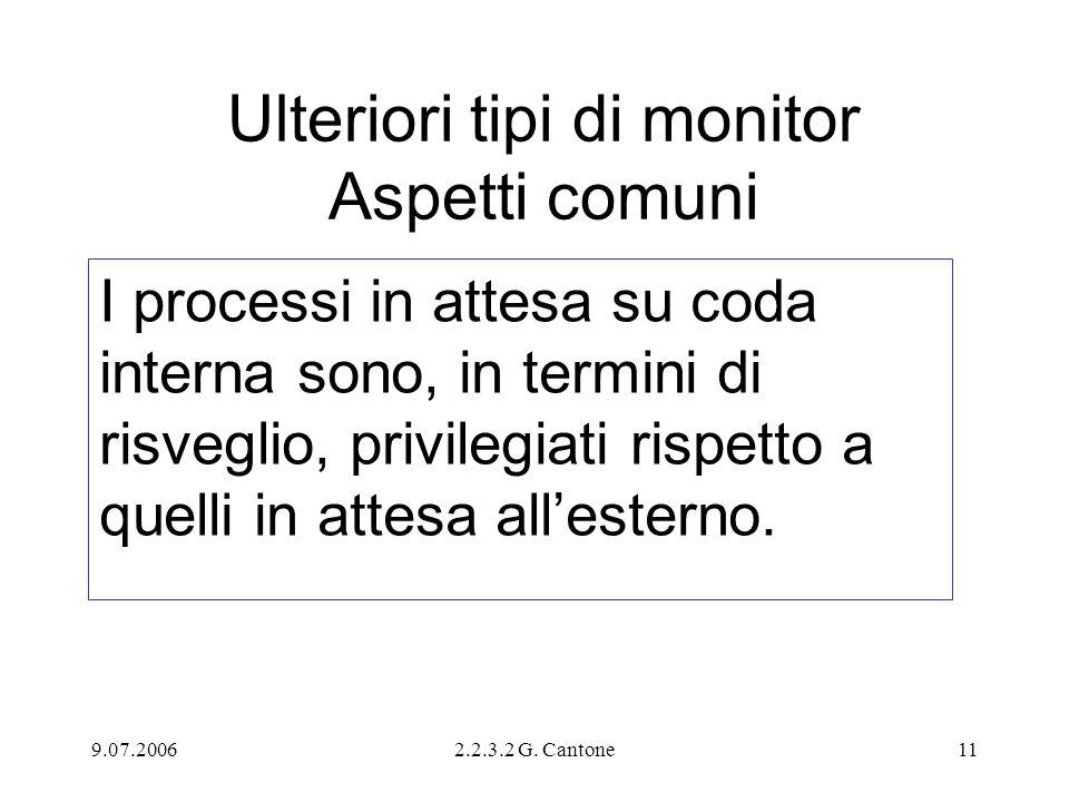 Ulteriori tipi di monitor