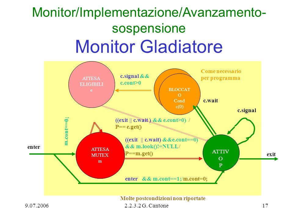 Monitor/Implementazione/Avanzamento-sospensione