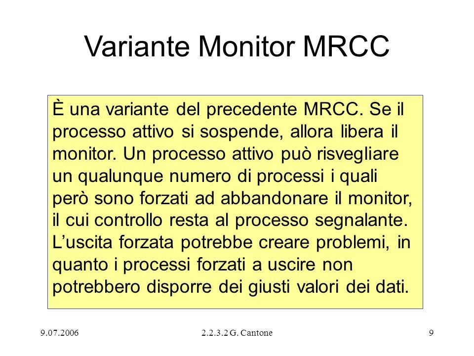 Variante Monitor MRCC