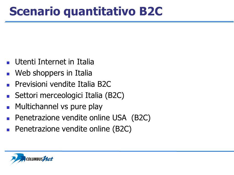Scenario quantitativo B2C